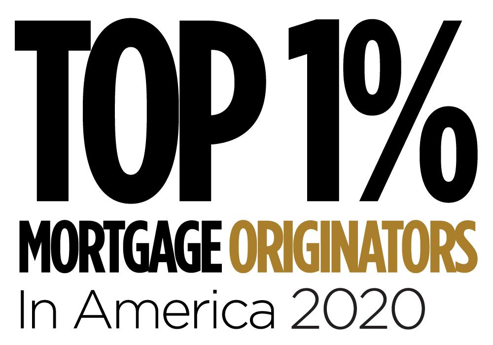 2020 Top 1% Mortgage Originators